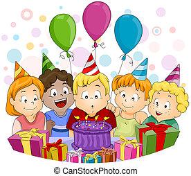 Birthday Party Illustrationen Und Clip Art 250034