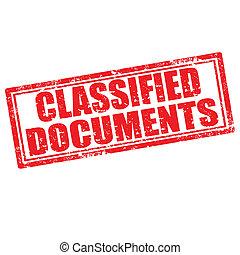 geclassificeerd, documents-stamp