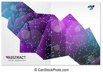 gedaantes, geometrisch ontwerp, abstract, 3d