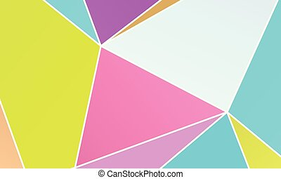 gedaantes, wallpaper., onregelmatig, combinatie, pleinen, geometrisch, rechthoeken, driehoeken