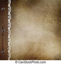 gedenkboek dek, bruine