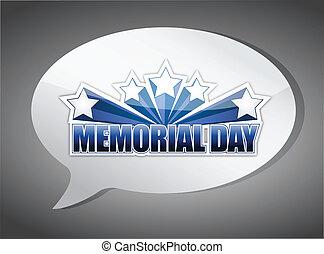 gedenkteken, illustratie, ontwerp, praatje, boodschap, dag