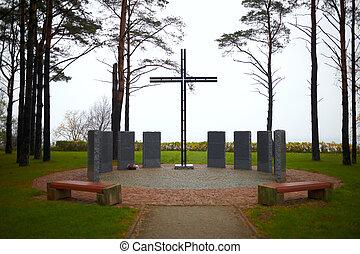 gedenkteken, kruis