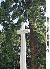 gedenkteken, oorlog, kruis