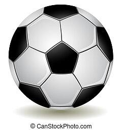 gedetailleerd, voetbal