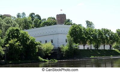 gediminas castle river
