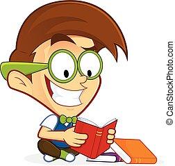 geek , βιβλίο , διάβασμα , nerd