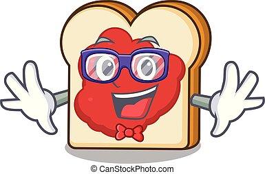geek , πελτέs , χαρακτήρας , γελοιογραφία , bread