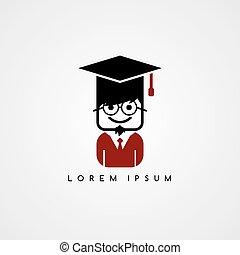 geek, 学者, 大学, avatar, 学生