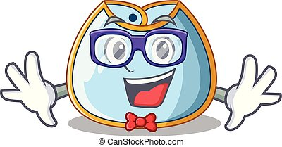 geek, bavaglino bambino, clothesline, cartone animato