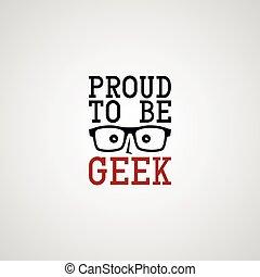 geek, facet, nerd
