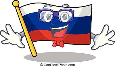 Geek flag russian stored in cartoon cupboard