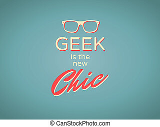 geek, is, de, nieuw, chic