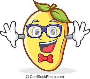 geek, mangowiec, litera, rysunek, maskotka