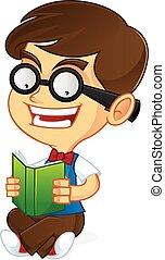geek, nerd