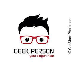 Geek person.