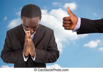 geestelijk, aanmoediging
