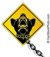 gefährlicher , wachhund