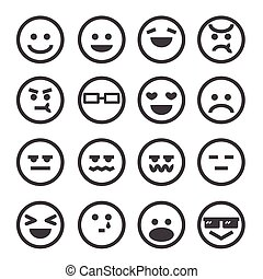 gefühl, menschliche , ikone