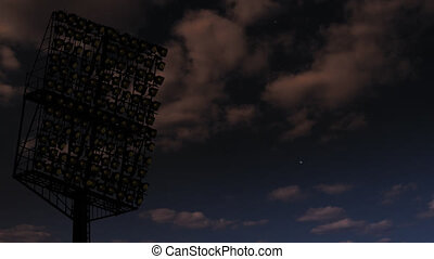gefunkel, lights., stadion