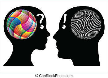 gegen, kreativität, logik