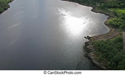 gegen,  leven, aus, fliegendes,  Glencoe,  Loch,  Lochaber