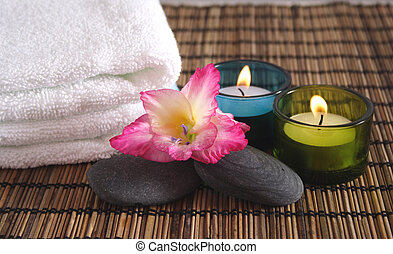 gegenstände, aromatisch, spa