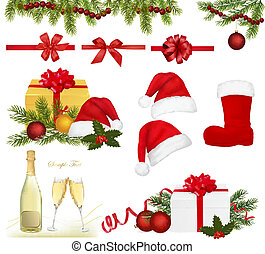 gegenstände, satz, weihnachten