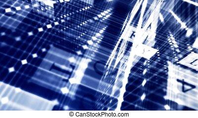 gegevensbescherming, in, de, netwerk, de, principe, van, de,...