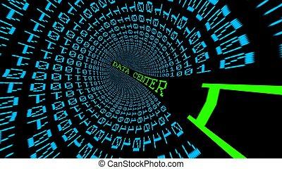 gegevensmidden, tunnel