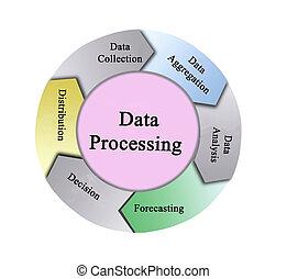 gegevensverwerking, vijf, componenten
