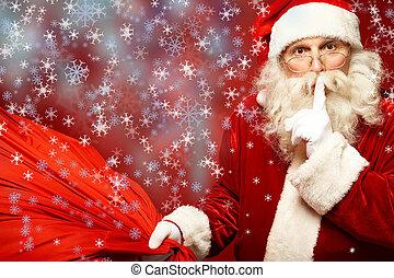 geheim, kerstmis