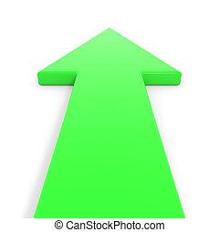 gehen, forward., grün, pfeil