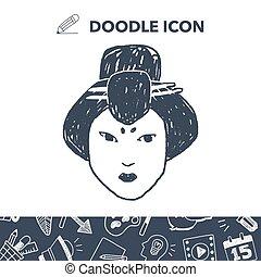 Geisha doodle