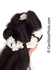 Geisha hair style