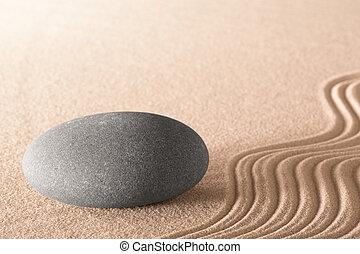 geistig, zen, stein