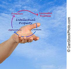 geistiges eigentum, diagramm