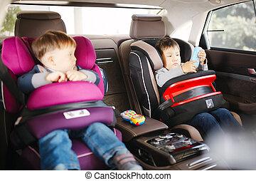 geitjes, auto stoel, veiligheid, luxe, baby, vrolijke