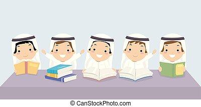 geitjes, stickman, illustratie, klasgenoten, boekjes , jongens