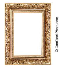 gekerfde, frame, vrijstaand