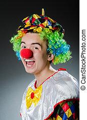 gekke , concept, humor, clown
