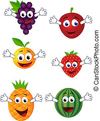gekke , fruit, karakter