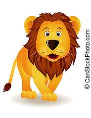 gekke , leeuw