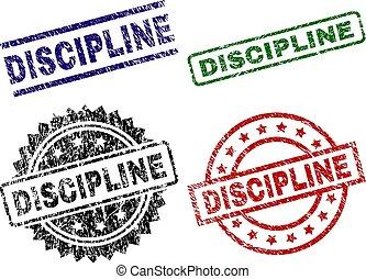 gekraste, discipline, textured, postzegel, zegels