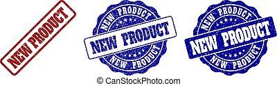 gekraste, nieuw product, postzegel, zegels