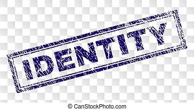 gekraste, postzegel, identiteit, rechthoek
