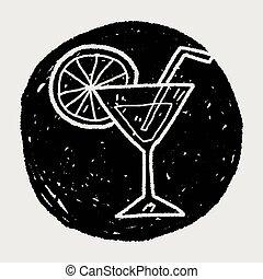 gekritzel, cocktail