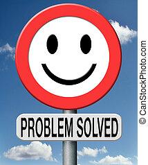 gelöst, problem
