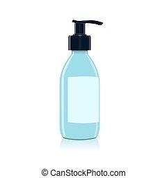 distributeur pompe savon plastique pompe shampoing clipart vectoriel rechercher. Black Bedroom Furniture Sets. Home Design Ideas