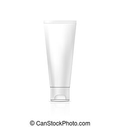 gel, tubo, o, crema
